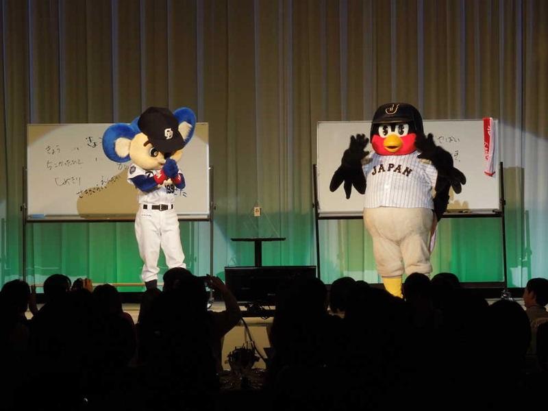 つば九郎とドアラのディナーショー